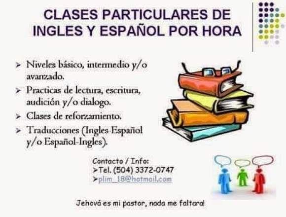 Clases Y Tutorias Particulares De Ingles Y Español Cortés Clase De Inglés Carteles Para Clase Ingles