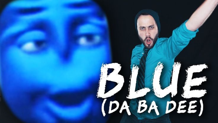 BLUE DA BA DEE (Eiffel 65) - Metal cover version by Jonathan Young & Tox... *This made me so happy!*