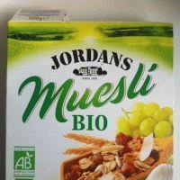 Muesli Bio (Jordans) : à consommer occasionnellement avec modération
