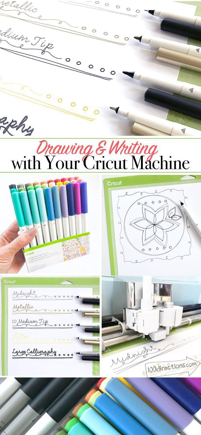 Drawing and Writing with your Cricut Machine - get started guide from Jen Goode #Scrapbooktricksandtips