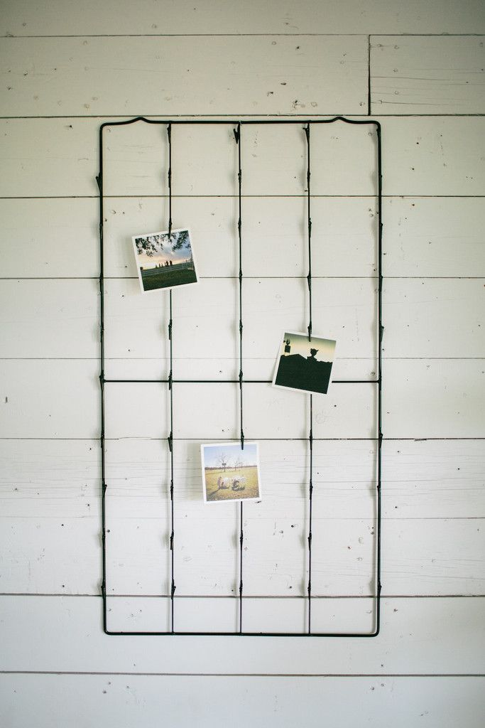 Metal Photo and Card Holder