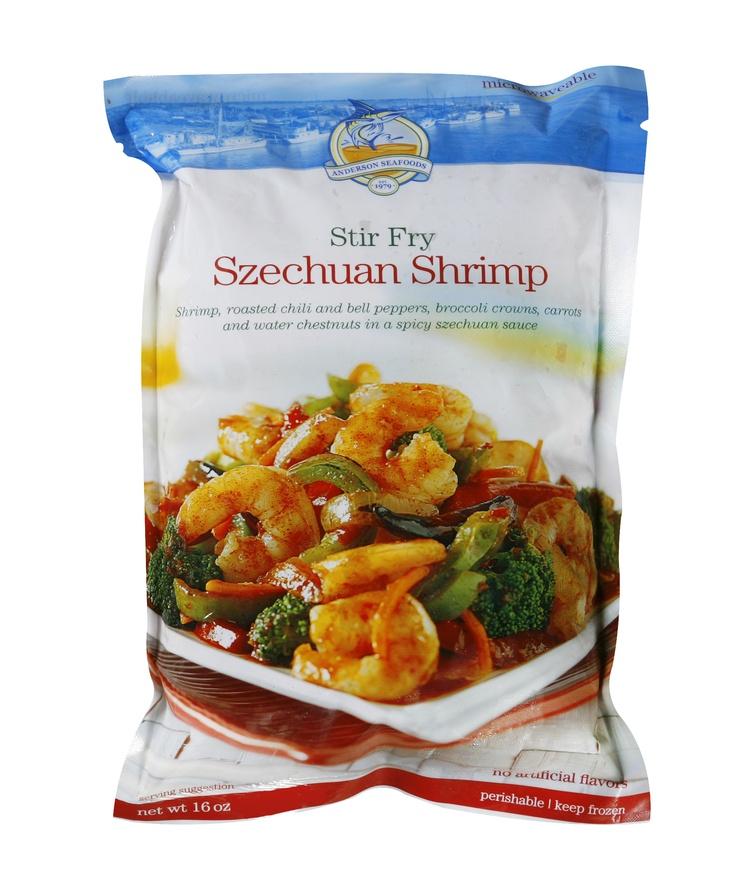 Stir Fry Szechuan Shrimp