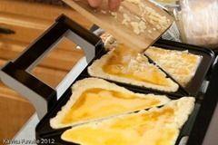 Sandwich Toaster omelets