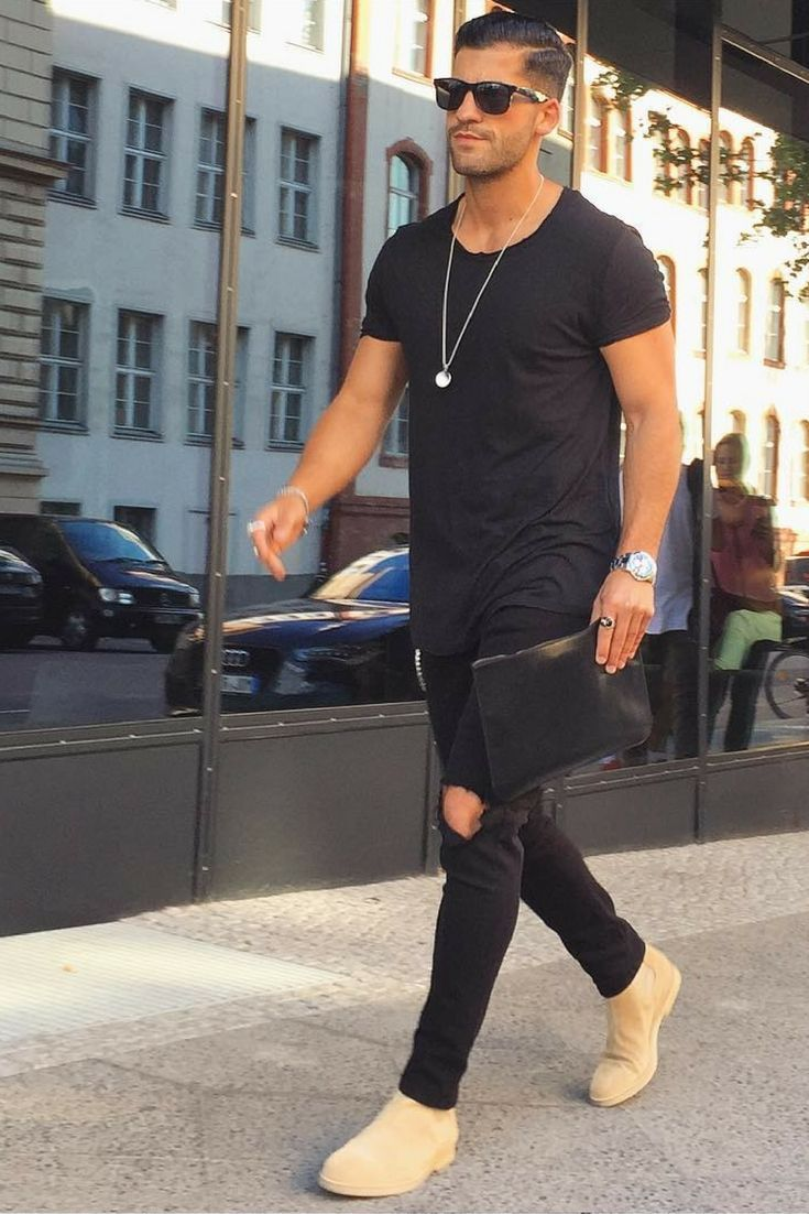 Ripped jeans looks for men