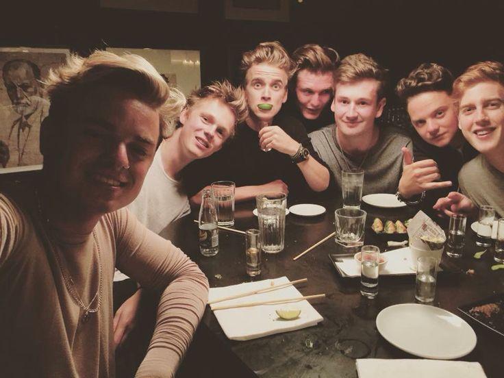 Jack, Caspar, joe, not sure, oli, Conor and josh