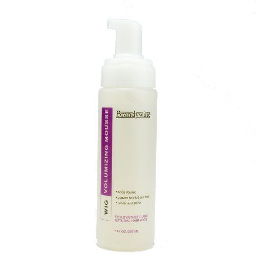 Brandywine Volumizing Wig Mousse by Brandywine. Save 30 Off!. $7.80. An alcohol free formula designed to provide superior body and styling control. The hair remains healthy & natural looking. Plant extracts add shine and softness without build up.