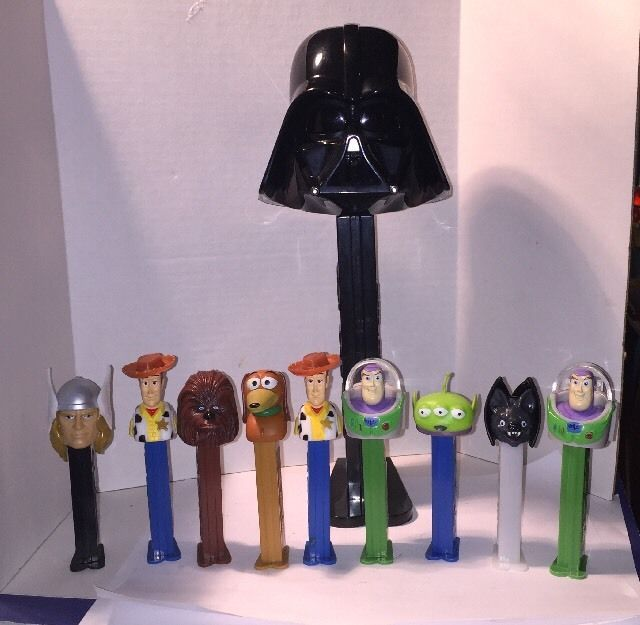 Per Candy Dispensers and Large Death Vader Pez with Sound | eBay