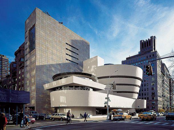 Музей Гуггенхайма, Нью-Йорк, Фрэнк Ллойд Райт
