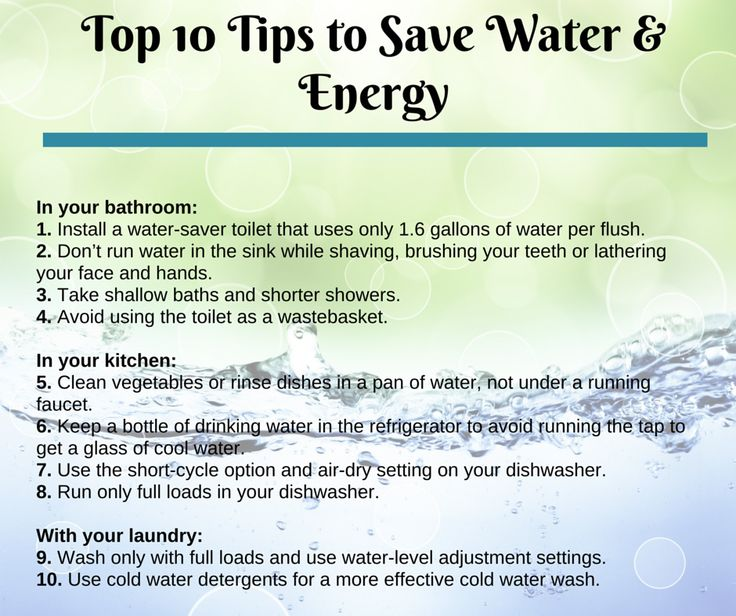 Top 10 tips to save water and energy from your pud snohomishpud savor every drop - Tips for a successful apartment investment ...
