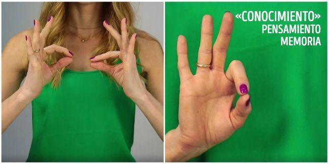 Ejercicios de yoga con los dedos que te ayudaran a estar saludable. Súper, los puedo hacer eneltrabajo