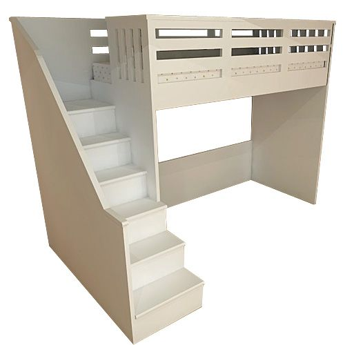 Folkestone high sleeper bed with plenty of under bed space for your own storage or contact us to discuss your individual storage needs A modern high