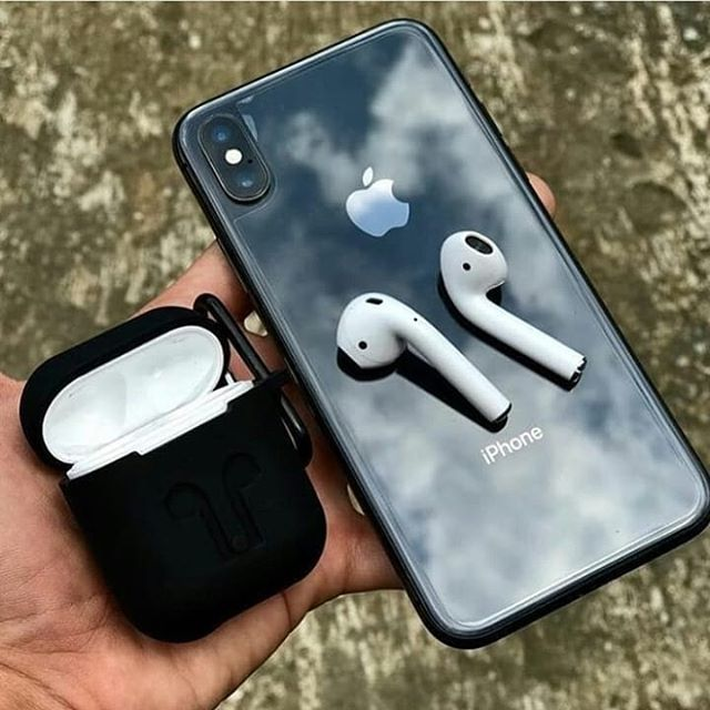 Never Drop Your Airpods Again All Black Do You Like It Tag Your Friends Follow Us Iphone Xs Cases Iphone Apple Iphone Photography