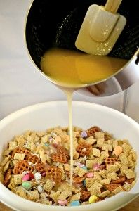Coconut Almond Chewy Chex Mix recipe supply photo 2