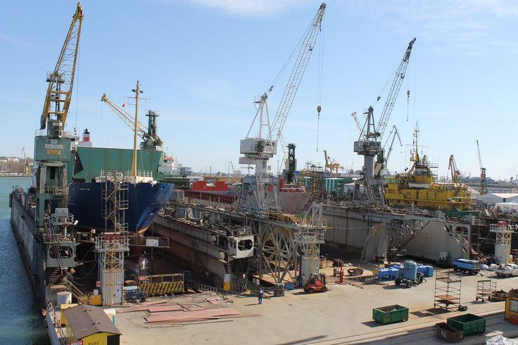 All docks occupied, April 2015 photo: J. Staluszka