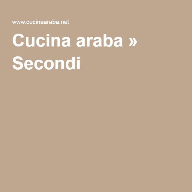 Cucina araba » Secondi