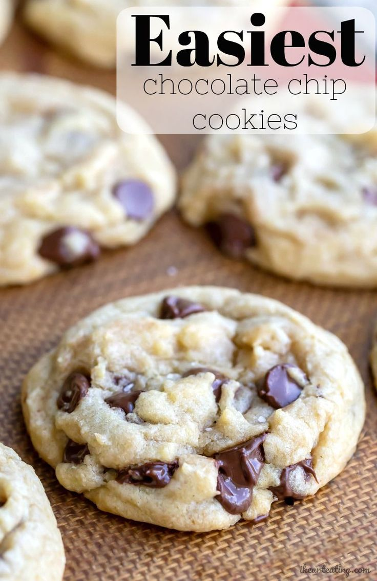 Easiest Chocolate Chip Cookie