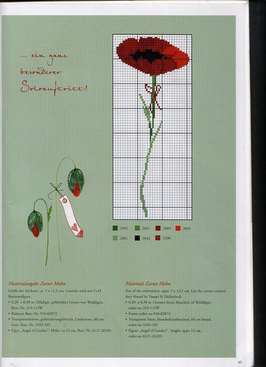 marque pages coquelicot