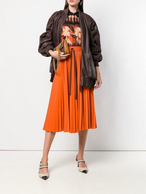 5588b5cc305 Fendi плиссированная юбка Gonna - Купить в Интернет Магазине в Москве