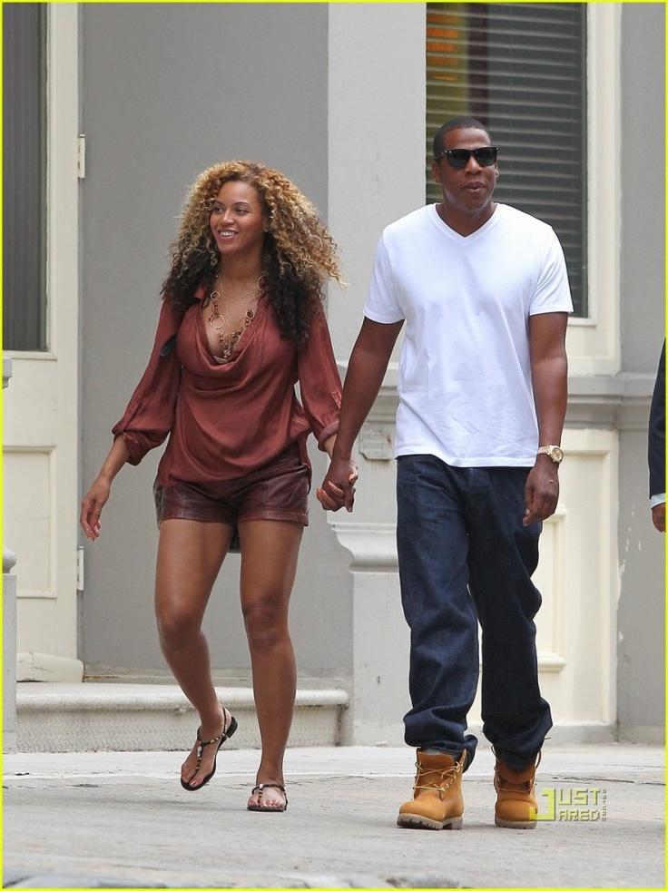 Jay-Z wearing TIMBERLAND | People and Timberland Yellow ...
