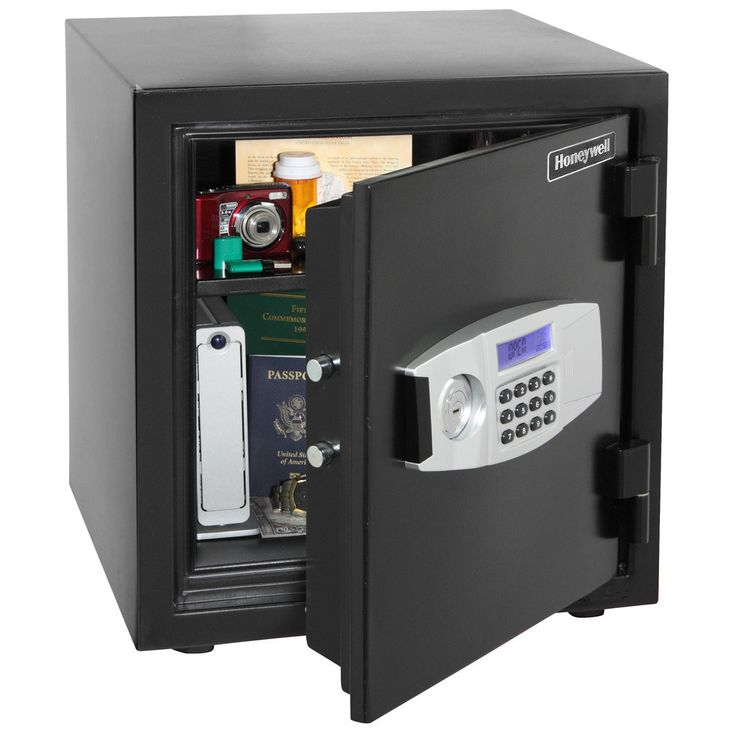 Honeywell 1.24 Cubic Foot Water Resistant Fire and Security Safe