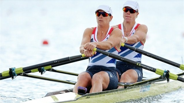 Great Britain breaks women's Double Sculls Olympic best  Katherine Grainger and Anna Watkins of Great Britain break the Olympic best in the women's Double Sculls heats on Day 3. It was their 22nd unbeaten race in a row.