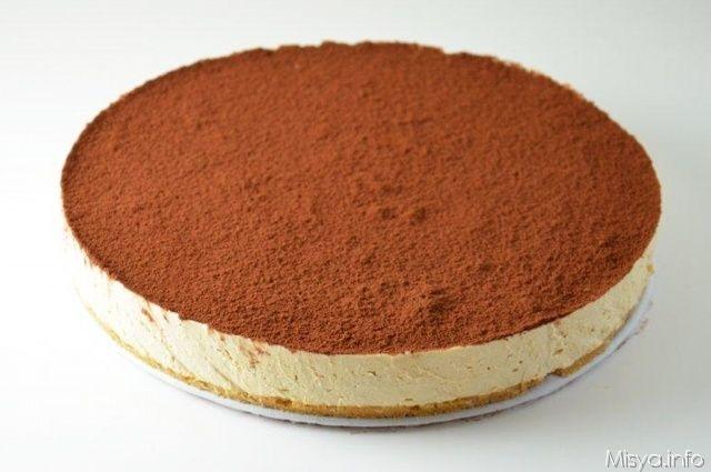 Cheesecake al caffe', scopri la ricetta: http://www.misya.info/2011/08/22/cheesecake-al-caffe.htm
