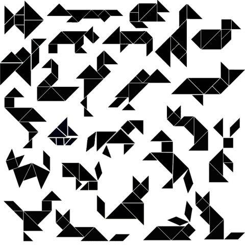 tangrams+animals+