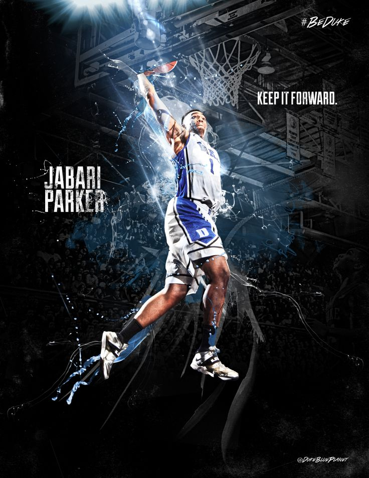 Jabari Parker is my 2nd fav college player he's an animal!!!