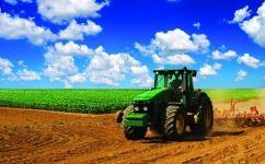 fototapet tractor