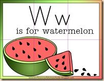 Watermelon activities with free printables to teach counting, shapes, numbers and the alphabet