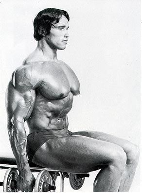 Arnold Schwarzenegger - Thank you @Anna Totten Glastetter for sharing the lovely picture... lol