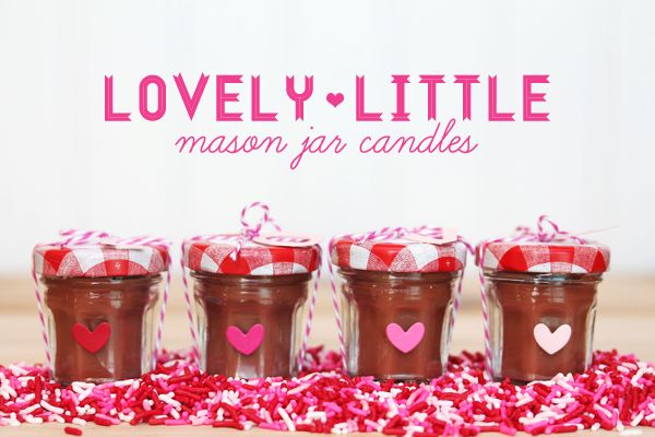 Style Watch: Mini Mason Jar Candles