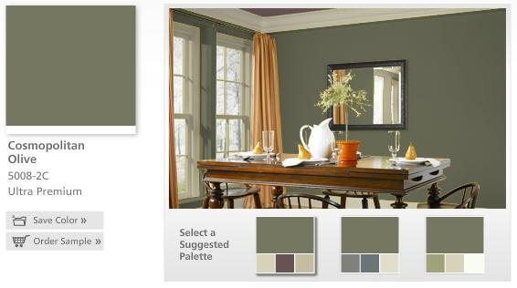 Paint Color Valspar Quot Cosmopolitan Olive Quot Me Likey
