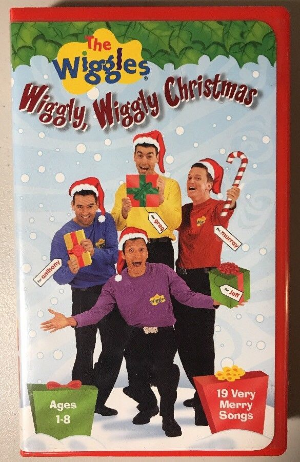 Wee Sing The Best Christmas Ever Vhs.The Wiggles Vhs Wiggly Wiggly Christmas Movie 19 Songs