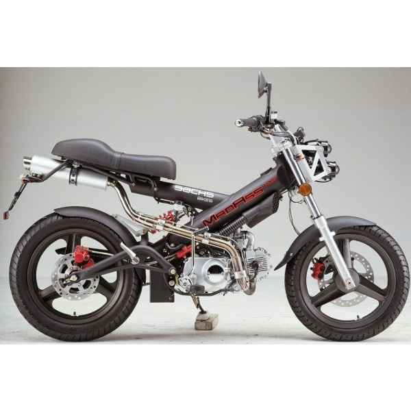 125cc Sachs Mad Ass Motorcycle Motor Scooter