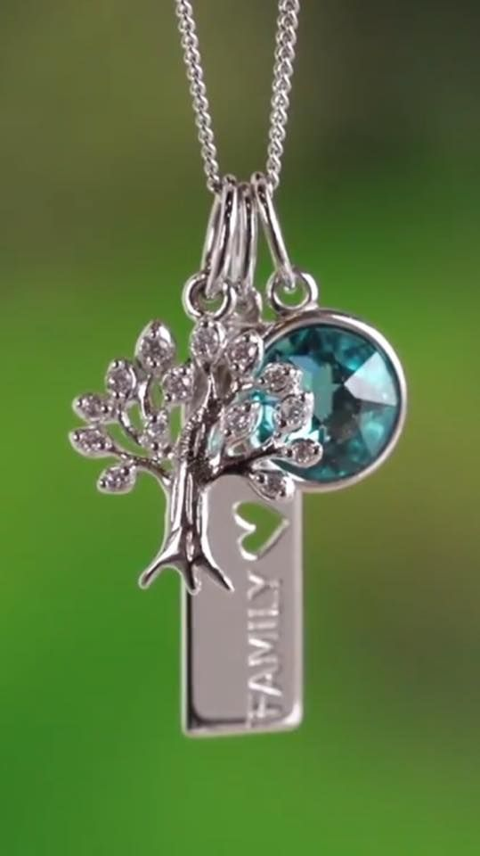 "Show your love of ""family"" with these beautiful Core Mementos from Origami Owl Core Collection. ""Roots Run Deep"" Silver Tree Pendant, ""Family"" Silver Affirmation Tag, ""Renewal"" Light Turquoise Swarovski Crystal Pendant. SparkleWithJennifer.OrigamiOwl.com"