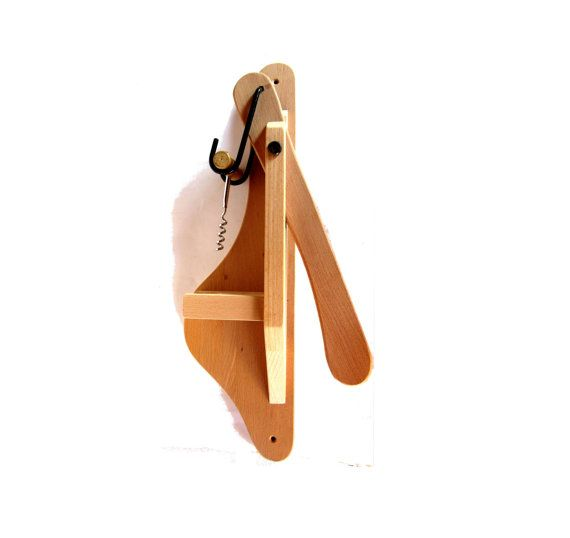 Bottle opener. Hand crafted wood. Wall by Underlyingsimplicity