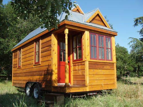 Fencl Build For Coast To Coast Tour. Tumbleweed Tiny HomesTiny ...