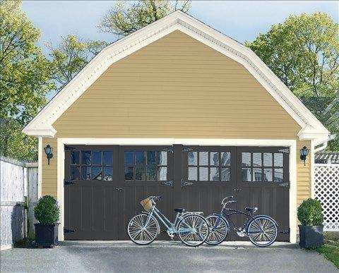 1000 Ideas About Garage Door Trim On Pinterest Garage