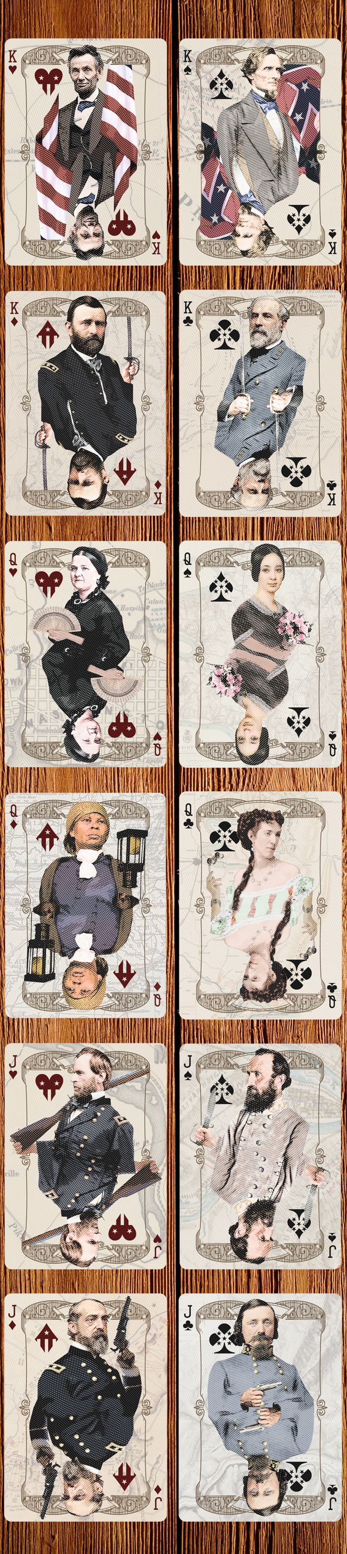 Civil Unrest Custom Playing Cards by USPCC by RJ Tomlinson @Jo Blackford .. ;)