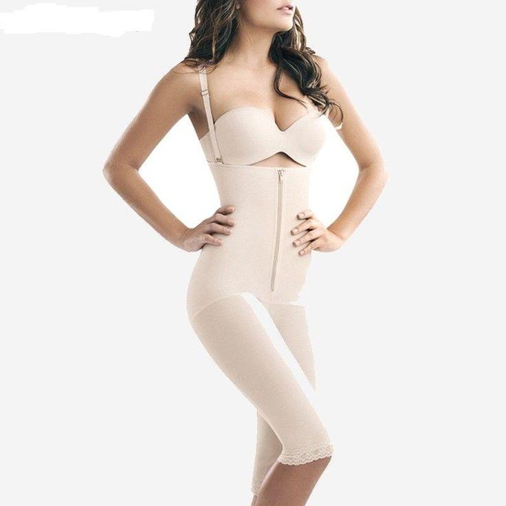 Hot Shapers for Women Full Body Shaper Strappy High Waist Shaper Corset Zipper  #Unbranded #SlipShapers