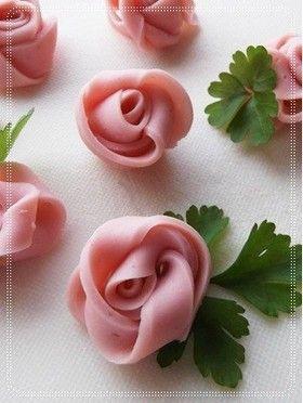 Fish sausage rose