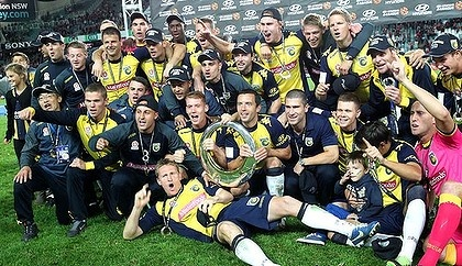 Central Coast Mariners, champions 2013