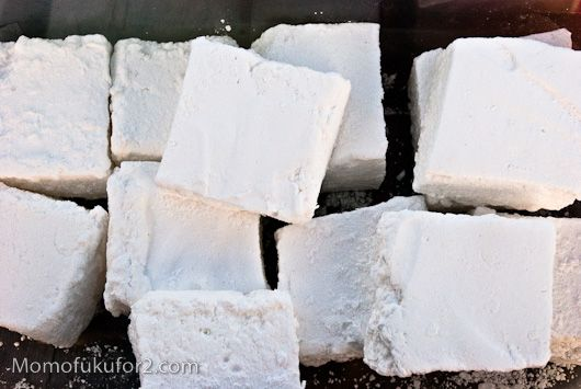 Homemade marshmallows - looks pretty easy!