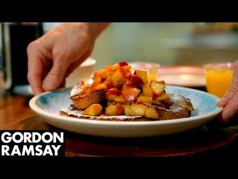Gordon Ramsay's Cinnamon Eggy Bread with Quick Stewed ...