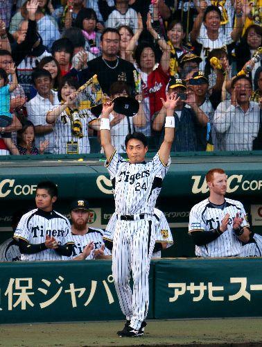 阪神タイガース桧山進次郎、現役最終戦2013.10.13