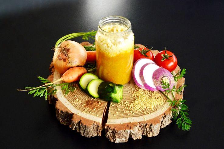 Recette de couscous végétarien ou à l'agneau pour bébé (Dès 8 mois). Une recette de petit pot aux 1000 saveurs orientales ! Un petit délice !