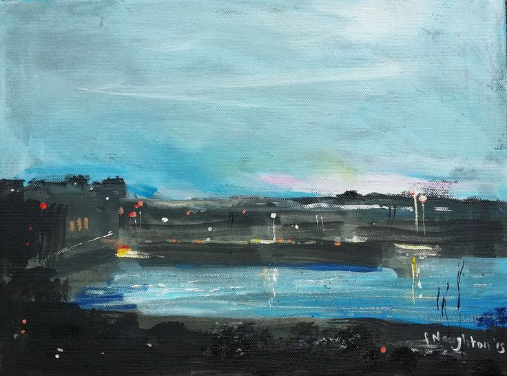 Seahouses Evening (Northumberland Coast)