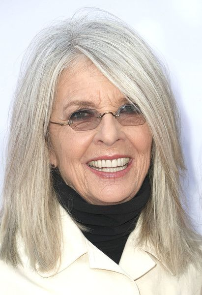 Diane Keaton Medium Straight Cut in 2019 | hair | Straight ...