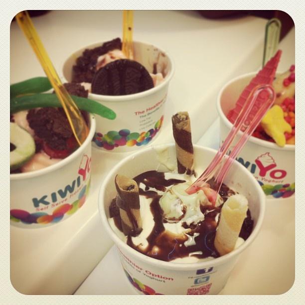 Instagram photo by @bee_fisher (Bianca Fisher) | KiwiYo Self Serve Frozen Yoghurt www.fb.com/kiwiyonz  | www.kiwiyo.co.nz #kiwiyo #froyo